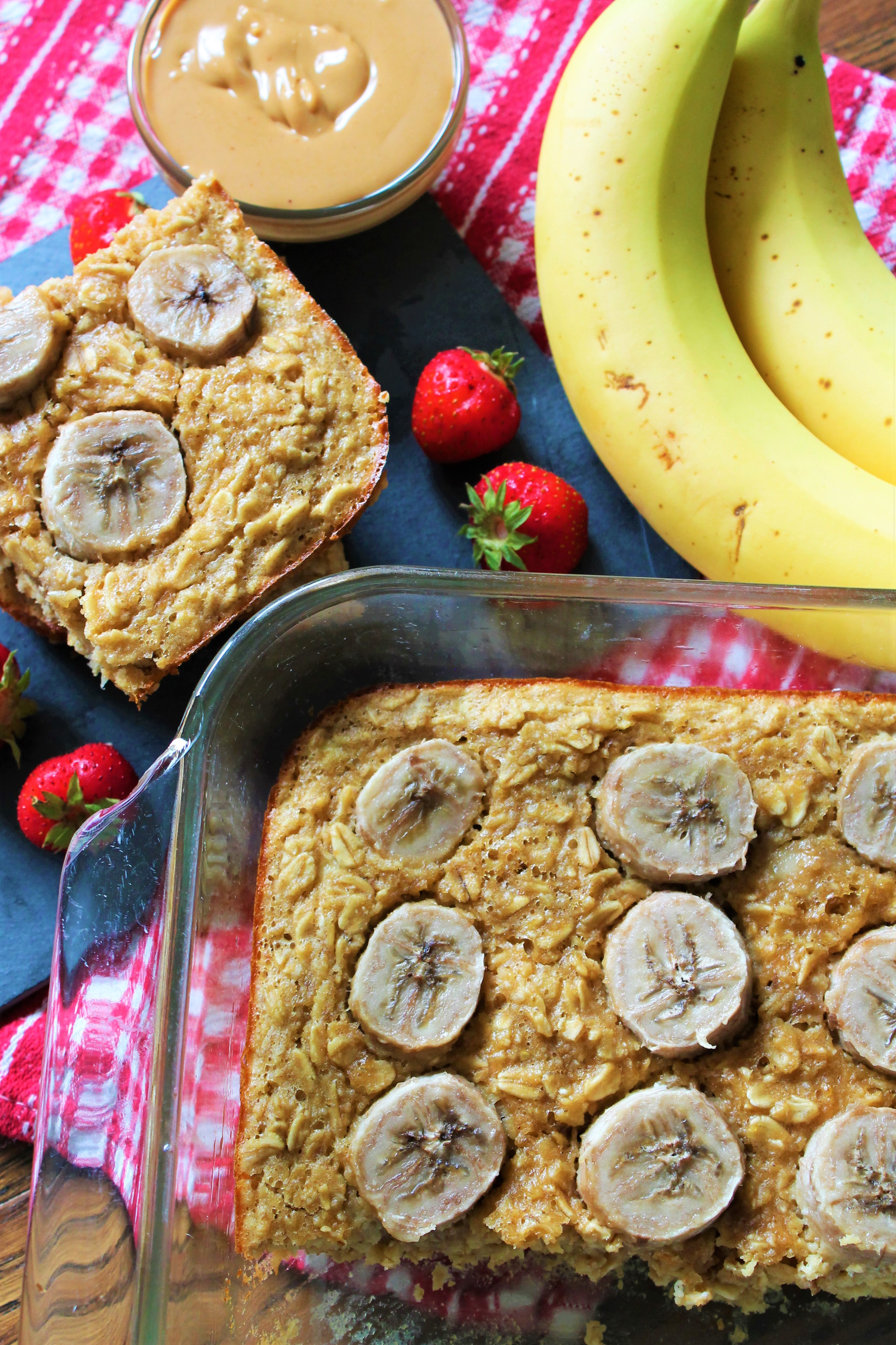 Peanut Butter Banana Bread Oatmeal