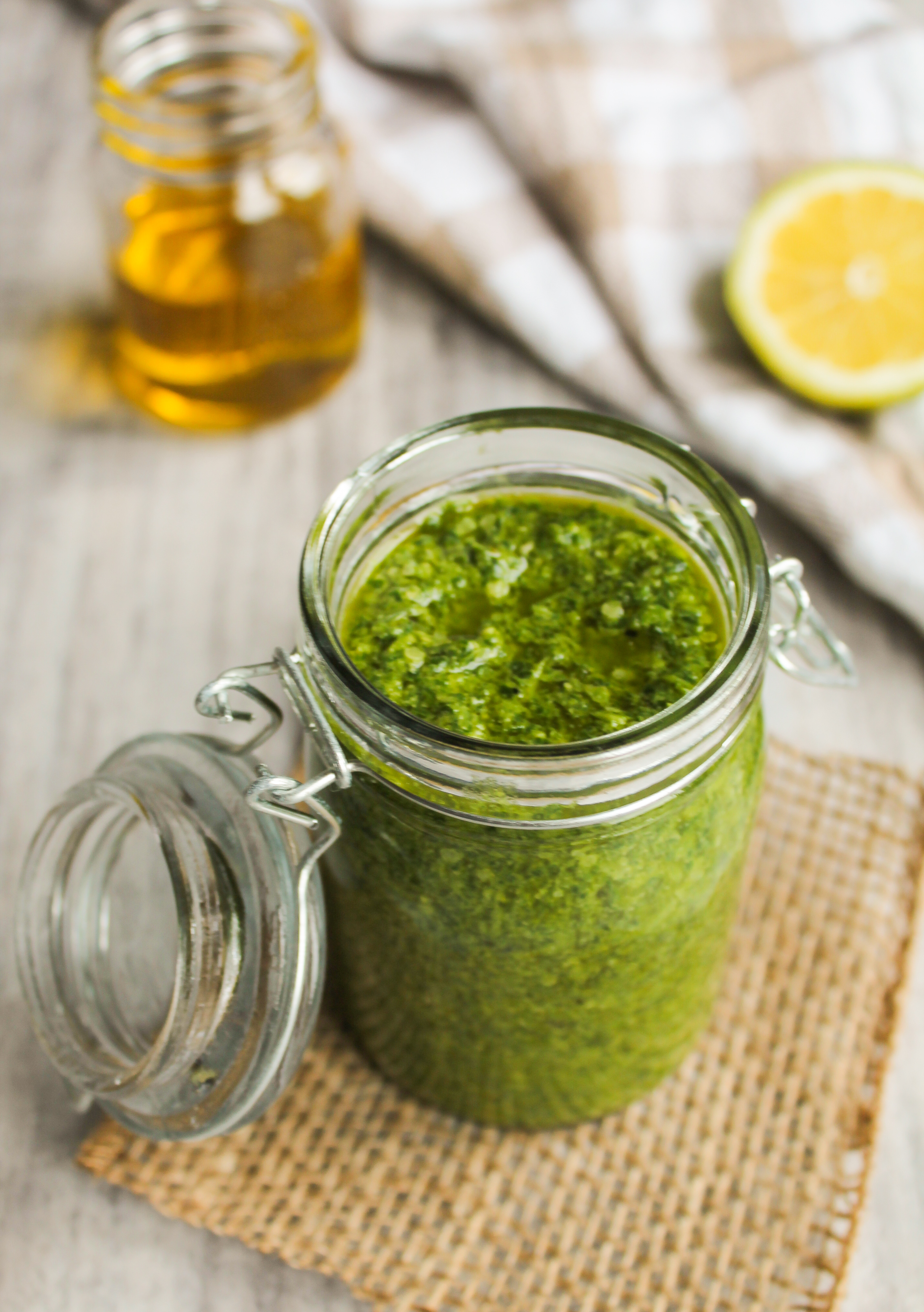 Easy Kale Pesto