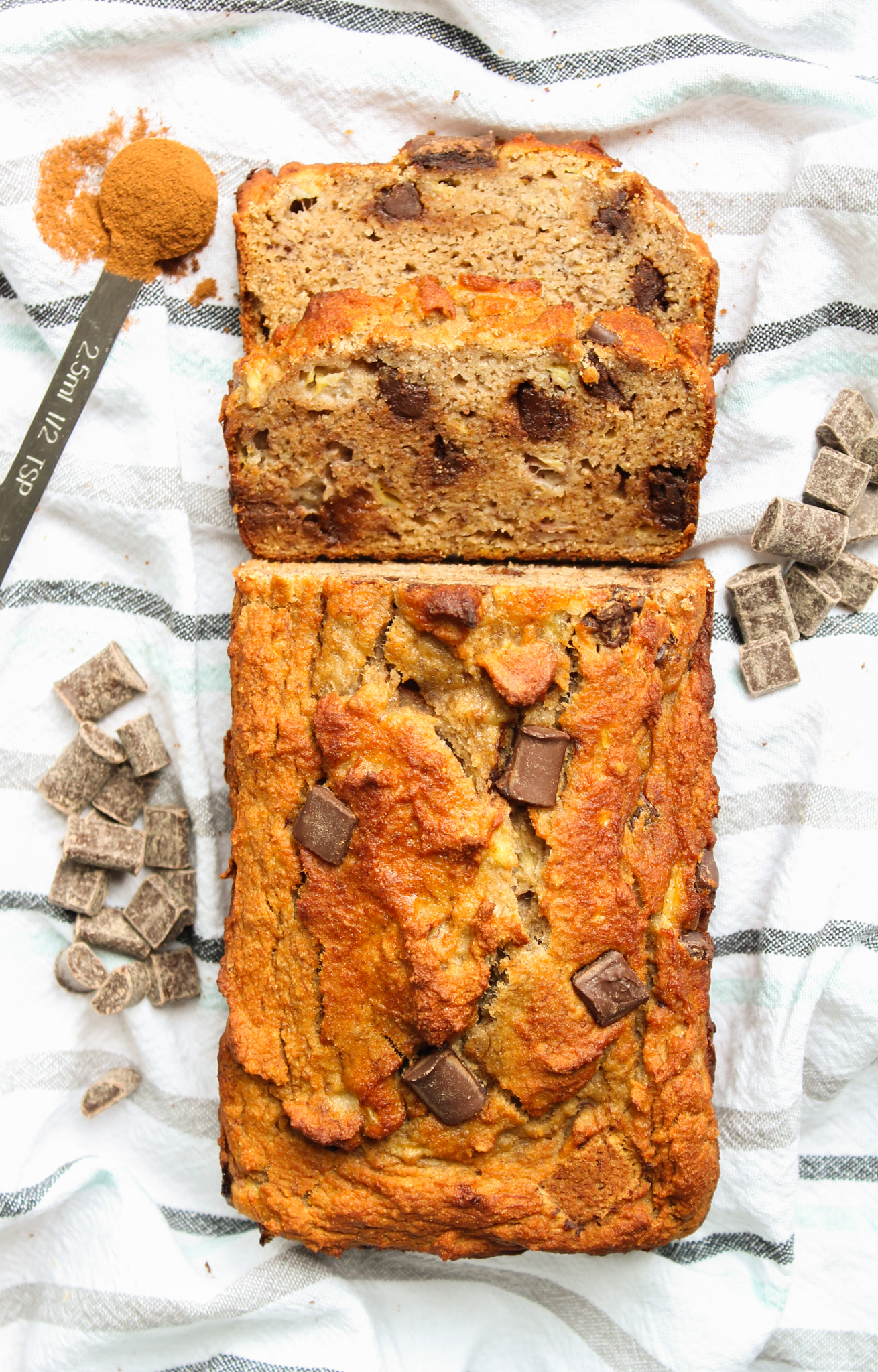 Grain-Free Chocolate Chunk Banana Bread