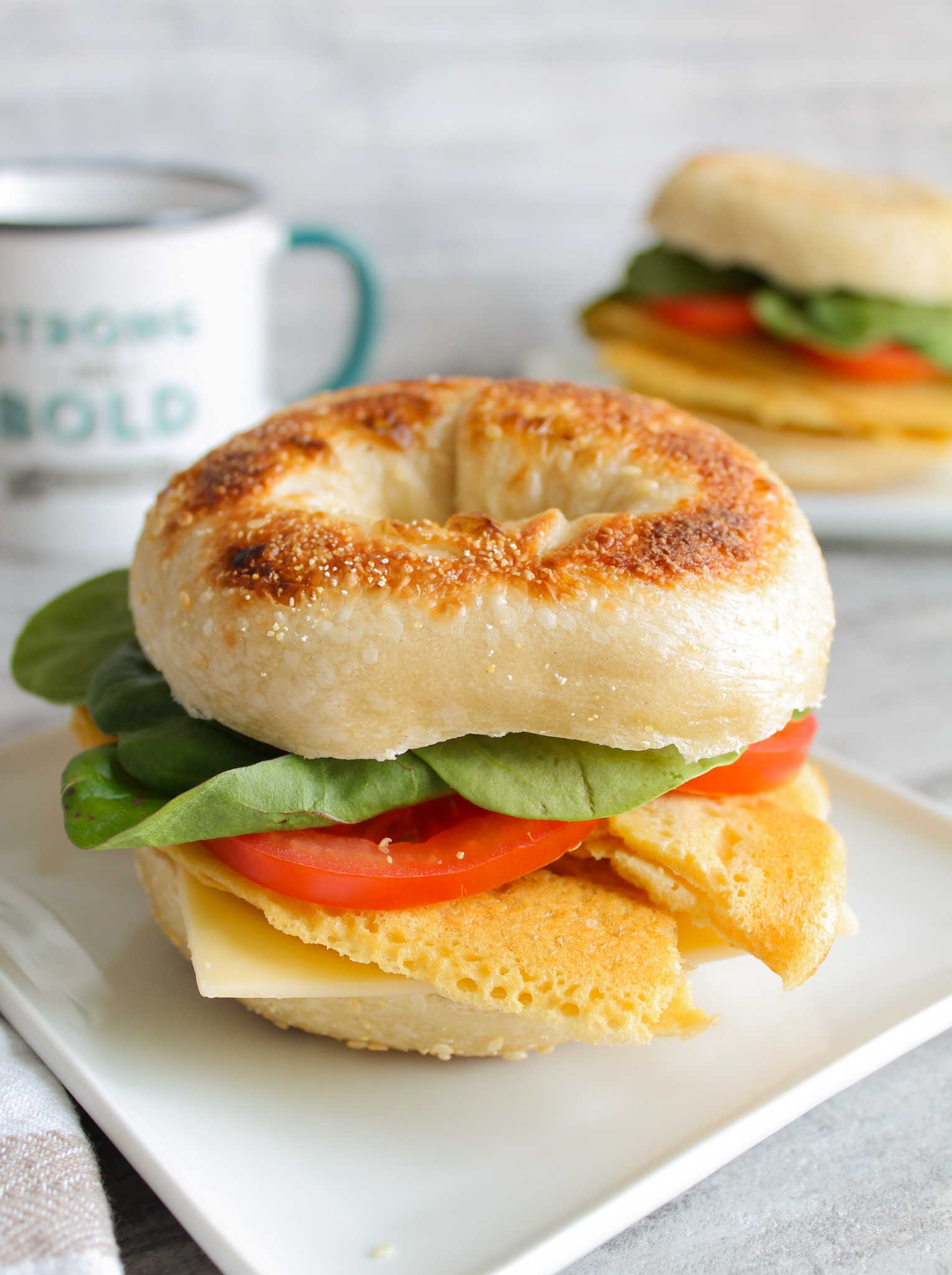 Chickpea Omelet Sandwiches